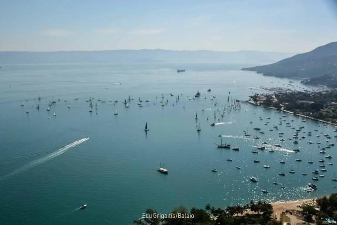 Semana Internacional de Vela de Ilhabela adapta regata inicial para os 120 barcos inscritos