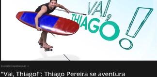 Thiago Pereira é destaque no Esporte Espetacular