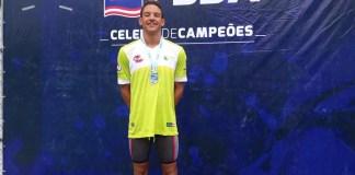 Guilherme Caribé começa temporada com quatro ouros