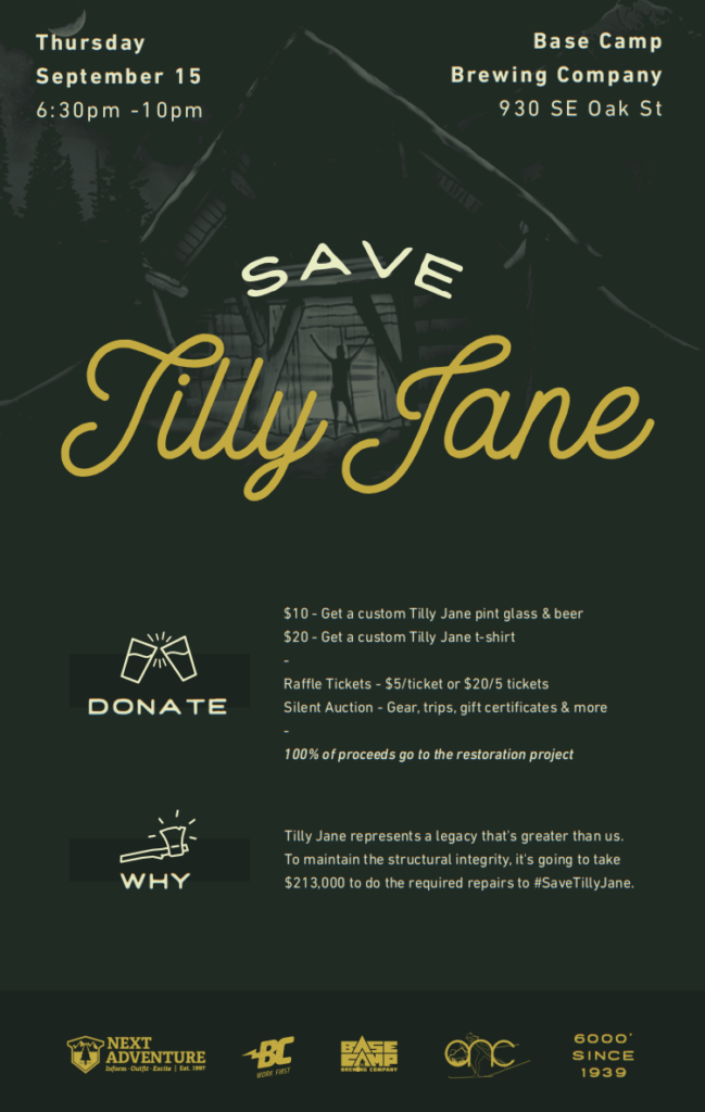 Tilly Jane A-Frame Fundraising Event - +Oregon Nordic Club+