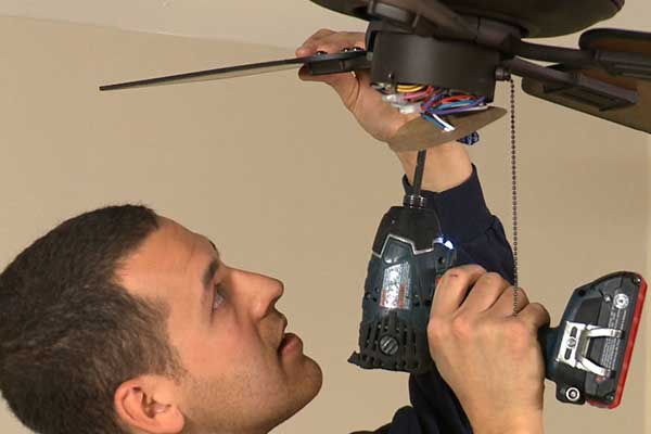 Ceiling Fan Installation | Electrical Services