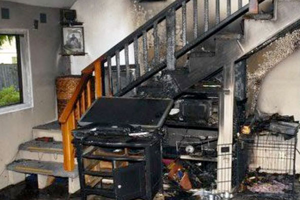 Fire Damage | Fire/Flood Damage Cleaning