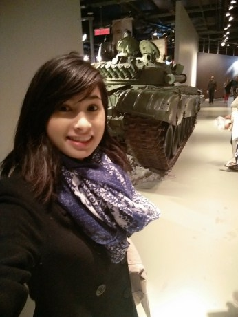 Tanks, fighter planes and torpedoes were all over the Canadian War Museum
