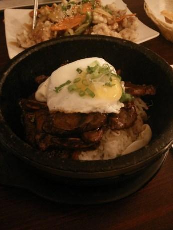 Short rib bibimbap