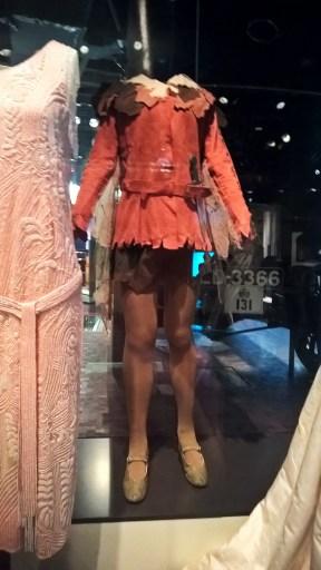 Premier costume de Peter Pan