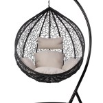 Rattan Egg Swing Chair Xl Outdoor Furniture Onceit