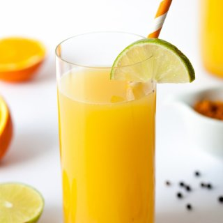 Turmeric Sunshine Juice and a Holiday in Iceland (Part 1)