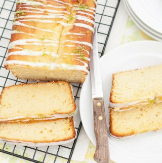 Lime and Coconut Cake with Coconut Icing