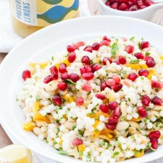Warm Giant Couscous Salad