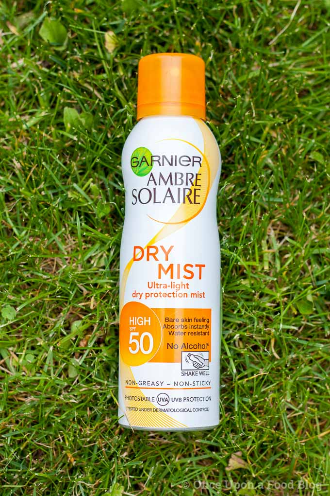 Review of Ambre Solaire Dry Mist SPF50