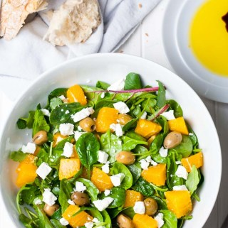 Orange, Feta and Olive Salad