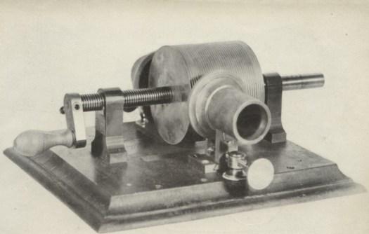 Original, tin-foil phonograph