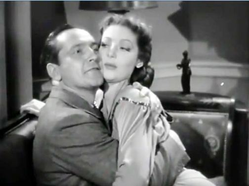 With Loretta Young in Bedtime Story