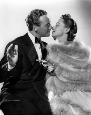 With David Niven in Raffles 1939