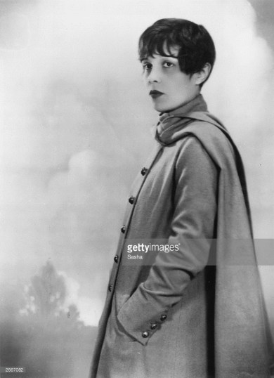 Prolific screenwriter, playwright and author, Anita Loos (April 26, 1889 – August 18, 1981).