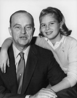 Edgar and Candice Bergen