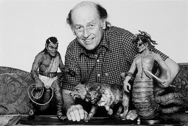 Ray Harryhausen and CLASH OF THE TITANS (1981)