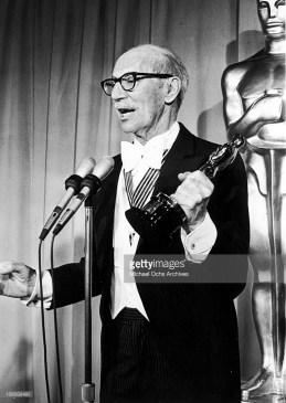 With honorary Oscar 1974