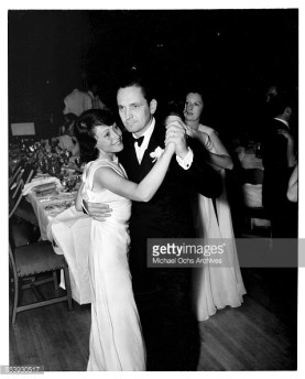 Dancing with Louise Rainer at the 10th Academy Awards