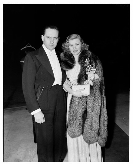 with Ginger Rogers in 1940