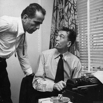 Bogart and Huston