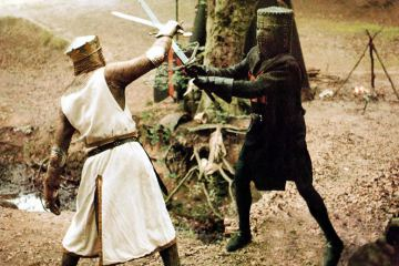 The Legend of MONTY PYTHON AND THE HOLY GRAIL (1975)