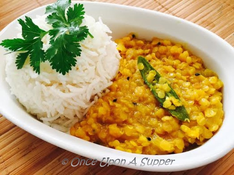 Mom's Dal Fry — the easiest & quickest Indian lentils fry recipe