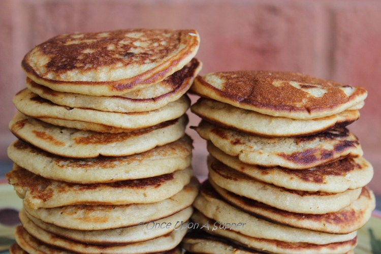 Whole wheat and oat Pancakes — super tasty, healthy, light, soft and fluffy