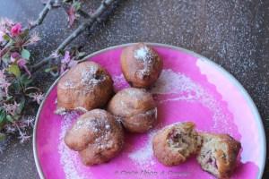 Cherry Fritters -- of cherries, cherry blossom and cheer!