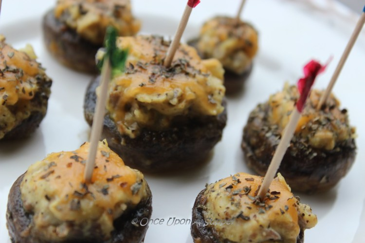 My gorgeous Stuffed Mushroom Caps -- are a great starter
