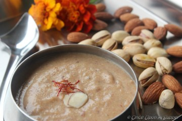 Khajur ki Kheer or Dates pudding -- a zero added sugar recipe