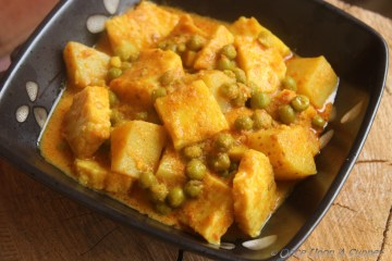 Aloo Matar Paneer -- a bit of everyday spice and everything nice!