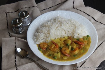 Fisherman's Shrimp Curry -- returning to fine simplicity of life!