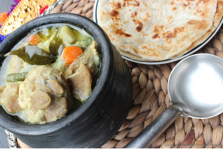 Kerala style Mutton Stew