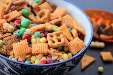 Healthy Chex Mix and Holiday Cheer
