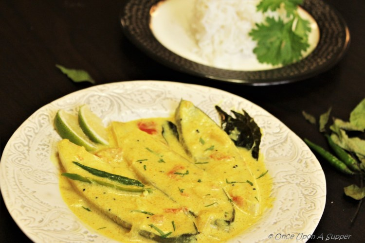 Pomfret Fish Moilee or Meen Moilee (Kerala style Fish Stew) — tuning taste buds to a Malabar dance!