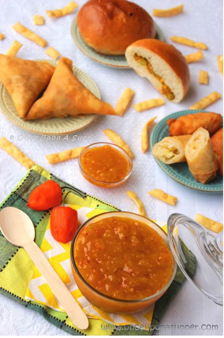 Mango Habanero Hot Sauce — the hot and slight sweet mania