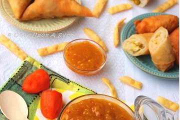 Mango Habanero Hot Sauce -- the hot and slight sweet mania