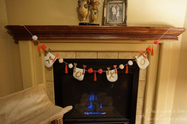 DIM: Creating an Simple Valentine Garland