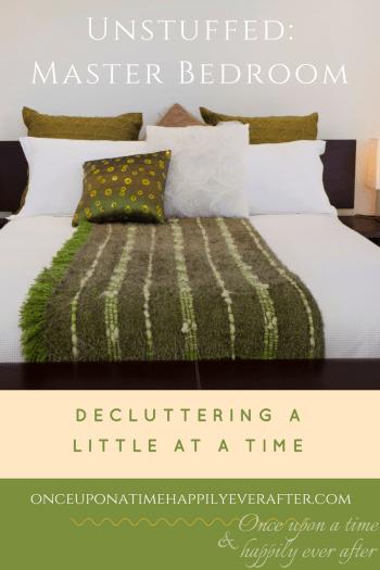 Unstuffed: Decluttering the Master Bedroom