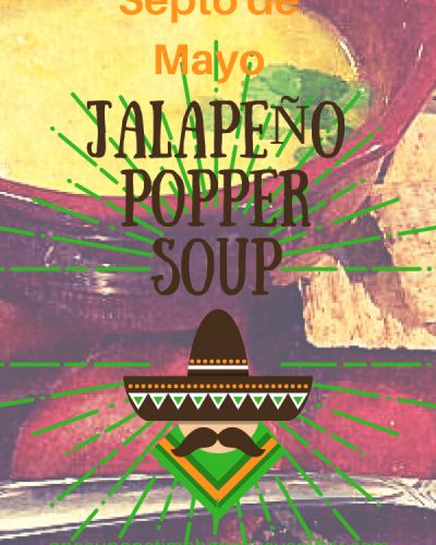 Tasty Tuesday:  Crock Pot Jalapeño Popper Soup