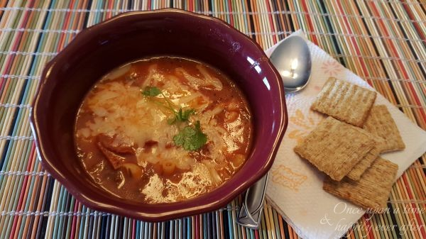 Tasty Tuesday: Crock Pot Pizza Soup