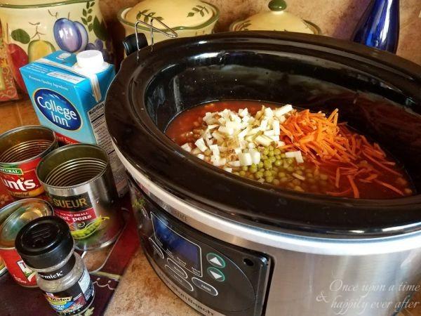 Tasty Tuesday: Weight Watchers Crock Pot Hamburger Stew