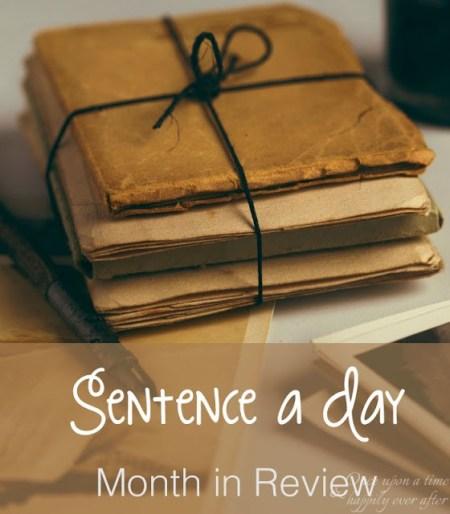 Sentence a Day, 10.2017