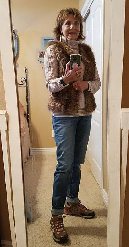 My Fashion Haus: Faux Fur Vest