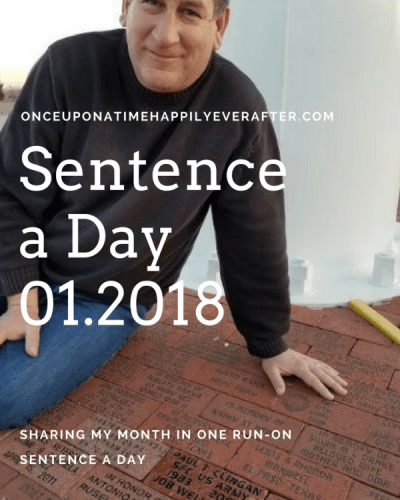 Sentence a Day, 01.2018