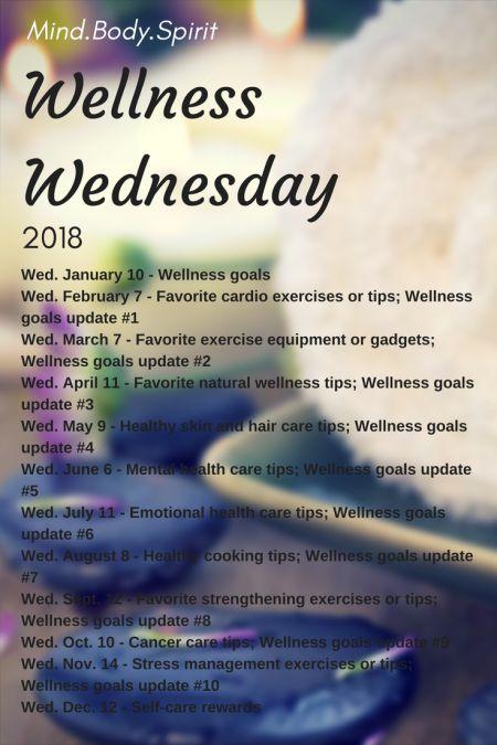 Wellness Wednesday, 02.2018