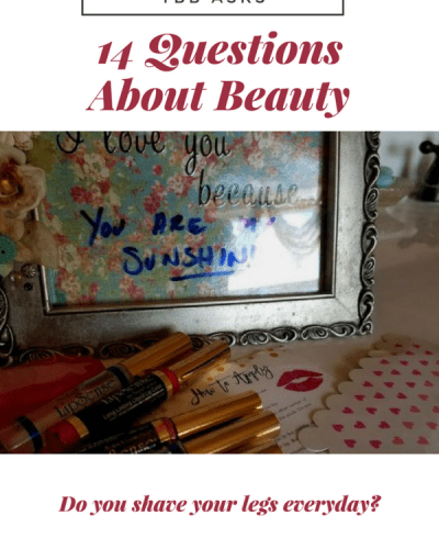 14 Questions About Beauty:  TBB Asks