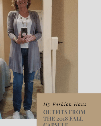 My Fashion Haus: Outfits from the 2018 Fall Capsule Wardrobe