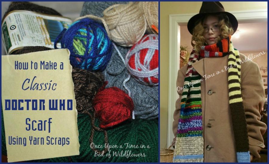 Dr Who Tardis Scarf Crochet Pattern